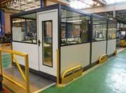 Cabine d atelier modulable - Disponibles en plusieurs dimensions et diverses configurations