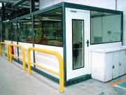 Cabine d'atelier pré-montée - Dimensions (L x l) m : De 2 x 2 à 8 x 3