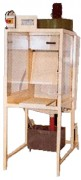 Cabine d'émaillage à rideau d'eau - Débit : 5 m3 / h