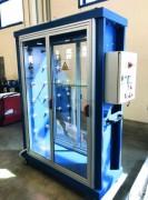 Cabine de désolvation et séchage peinture - Respect des normes ATEX