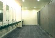 Cabine de douche collective - Stratifié massif épaisseur 13mm - Hauteur : 2200 mm
