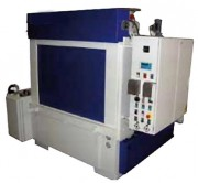 Cabine de lavage à pulvérisation 2 cuves - Cabine est réalisée en acier inoxydable