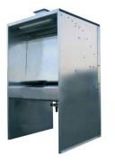 Cabine de peinture à eau sur pieds - Débit : 2 000 ou 4000 m³/h