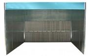 Cabine de peinture à profondeur 865 mm - Puissance (kW) : 7.5 ou 5.5 + 5.5 - Largueur aspiration / hors-tout (en mm) : 4000 / 4100
