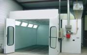 Cabine de peinture automobile sur mesure - Technologie standard   -   Entièrement équipée