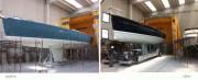 Cabine de peinture bateau - Gain de place avec mesure personnalisée