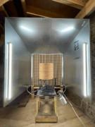 Cabine de peinture compacte 1,80 x 1,80 m - Cabine de peinture ouverte livrée en kit