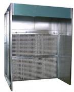 Cabine de peinture filtre sec
