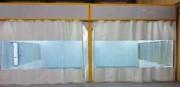 Cabine de peinture liquide indutrielle - Ventilation horizontale ou verticale