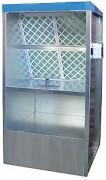 Cabine de peinture manuelle - Hauteur d'aspiration : 1000 mm - Largueur d'aspiration : 1000 mm