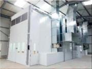 Cabine de peinture mobile et extensible - Solution pliable pour économiser l'espace
