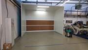 Cabine de peinture ouverte - Largeur 3 mètres avec éclairage