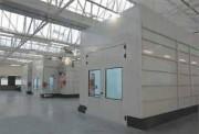 Cabine de peinture pour poids lourds - Energie - 50 %  -   Niveau sonore - 50 %