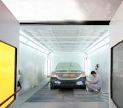 Cabine de peinture pour véhicule léger - Energie - 50 %   -  Niveau sonore - 50 %