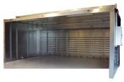 Cabine de polissage à aspirateur - À aspirateur centrifugeur insonorisant