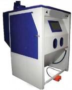 Cabine de sablage à haute pression - Hygiénique, ergonomique, respect de l'environnement