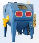 Cabine de sablage à injecteur - Résiste à une charge de 200 kg