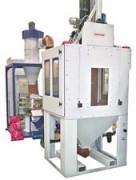 Cabine de sablage automatique avec broche rotative - Seule broche rotative