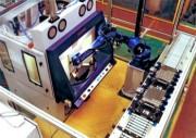 Cabine de sablage automatique pour grenaillage de précontrainte - Grenaillage de précontrainte