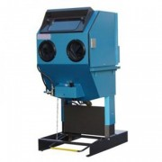Cabine de sablage microbillage à dépression - Dimensions intérieures : l 1500 x p 1500 x h 700 mm