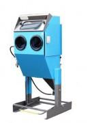 Cabine de sablage microbillage semi-professionnelle - Système de projection à dépression