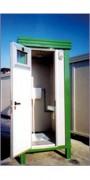 Cabine de WC - Dimensions : 1.20 x 2.40 x 2.65 h