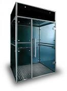 Cabine fumeur ventilée - L'éclairage intérieur est assuré par un détecteur de mouvement