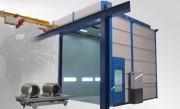 Cabine industrielle pour dégraissage et phosphatation - Préparation des surfaces avant les revêtements de protection