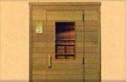 Cabine infrarouge en bois - Ref : JK 110