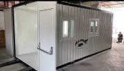 Cabine de peinture container - Ventilateur d'extraction: 9.000 m³/h
