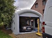 Cabine de peinture gonflable pour extérieur - Cabine de peinture pour usage extérieur