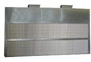 Cabine pulvérisation à filtre sec écologique - Puissance (kW) : 5.5 + 5.5 ou 7.5 + 7.5 - Largueur aspiration / hors-tout (mm) : 5000 / 5100