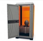 Cabine sanitaire de chantier - Cabine autonome   -  Service de location assuré