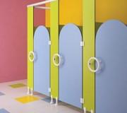 Cabine sanitaire enfant - À Anti pince-doigts
