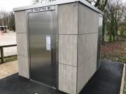 Cabine sanitaire pour PMR - 3 versions possibles : Manuelle, Semi-automatique, Automatique