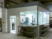 Cabine technique préfabriquée - Isolation de haute densité