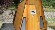 Cabine toilette sèche mobile - Toilette sèche démontable location longue durée