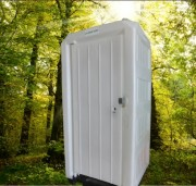 Cabine WC extérieur