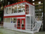 Cabines d'atelier - Structure monobloc autoportante