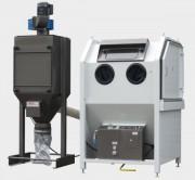 Cabines de dépoussiérage et de soufflage - Soufflage / nettoyage à ventilation haut débit