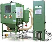 Cabines sablage manuelles et automatiques - Vitesses de production jusqu'à 5 fois supérieur