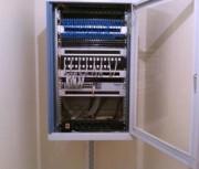Câblage informatique et téléphonique - Câblage des répartiteurs téléphonique et des baies informatique simple ou mixte