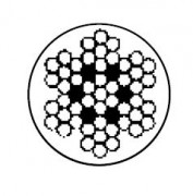 Câble gainé - Diamètre (mm) : 4.5/6