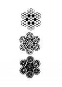 Câble pour treuil - Diamètres (mm) : de 2 à 14