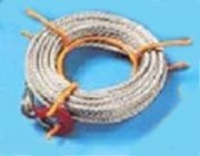 Câble pour treuil avec crochet - Diamètres (mm) : 8.3 - 11.5 - 16.3 - Longueurs : 20 m
