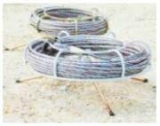 Câble pour treuil boucle cossée - Longueurs (m) : De 10 à 60 - Diamètres (mm) : 8.3 - 11.5 - 16.3