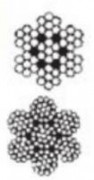 Câble treuil antigiratoire - Diamètres (mm) : de 6 à 14