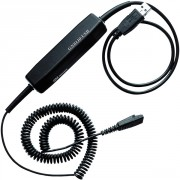 Câble USB pour casque GN - Compatible avec tous les microcasques de la gamme GN netcom