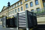 Cache-conteneur - Cache-conteneur modulable en plastique recyclé