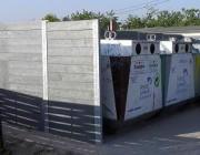 Cache conteneur en materiau recyclé - Aucun entretien - Anti vandalisme